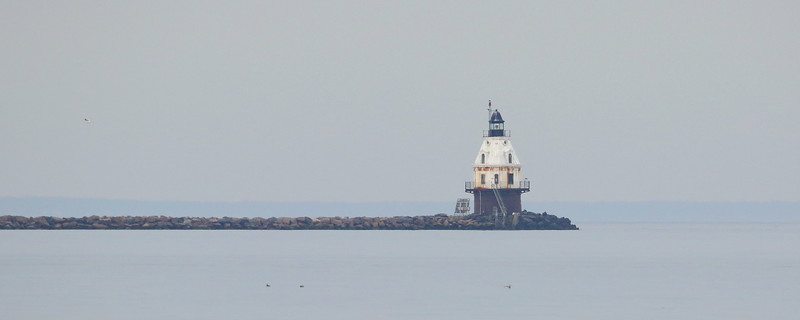 New Haven Harbor Breakwater Light