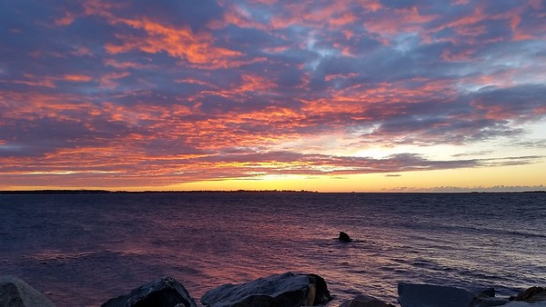 Stonington Point Sunrise