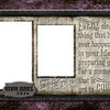 Wrought Iron - Half Page Template