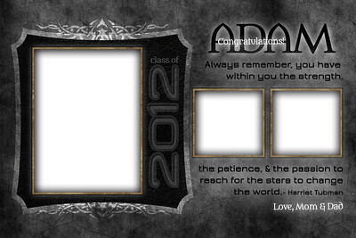 Tattooed - Half Page Template