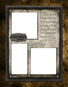 Wrought Iron - Full Page Template #1
