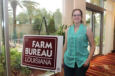 On October 20, 2017, Megan Caughern of Caddo Parish attended the Louisiana Farm Bureau's Women's Leadership Conference Fall Conference in Baton Rouge, Louisiana.