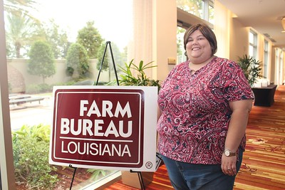 On October 20, 2017, Jennifer Compton of Jefferson Davis Parish attended the Louisiana Farm Bureau's Women's Leadership Conference Fall Conference in Baton Rouge, Louisiana.