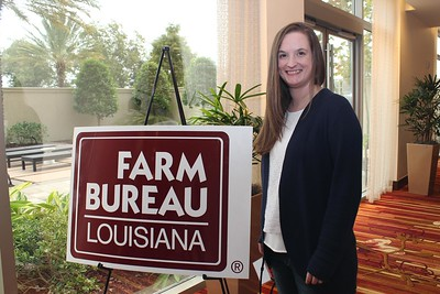 On October 20, 2017, Louisiana Farm Bureau Women's Leadership Committee Catahoula Parish Chair Brandi Barron Watts attended the Louisiana Farm Bureau's Women's Leadership Conference Fall Conference in Baton Rouge, Louisiana.