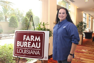 On October 20, 2017, Louisiana Farm Bureau Women's Leadership Committee District III Director Christy Ingram of Franklin Parish attended the Louisiana Farm Bureau's Women's Leadership Conference Fall Conference in Baton Rouge, Louisiana.