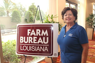 On October 20, 2017, Louisiana Farm Bureau Women's Leadership Committee Ex-Officio Denise Hymel of East St. James Parish attended the Louisiana Farm Bureau's Women's Leadership Conference Fall Conference in Baton Rouge, Louisiana.