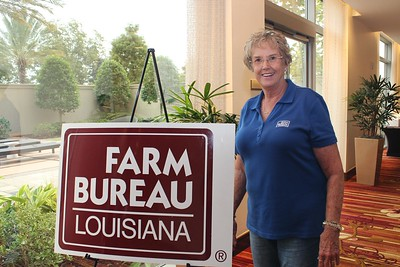On October 20, 2017, Louisiana Farm Bureau Women's Leadership Committee 2nd Vice-Chair  and Calcasieu Parish Chair Becky Hensgens attended the Louisiana Farm Bureau's Women's Leadership Conference Fall Conference in Baton Rouge, Louisiana.