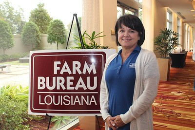 On October 20, 2017, Louisiana Farm Bureau Women's Leadership Committee 1st Vice-Chair Michele Simoneaux attended the Louisiana Farm Bureau's Women's Leadership Conference Fall Conference in Baton Rouge, Louisiana.
