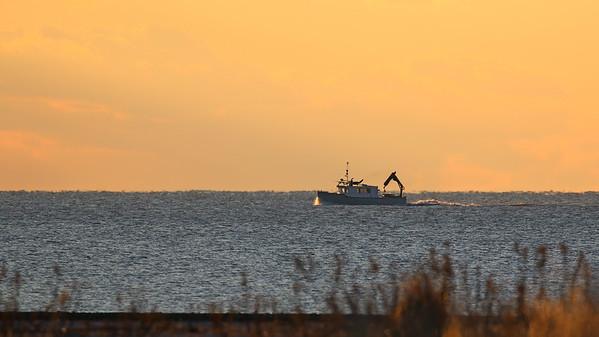 Sunrise Trawler