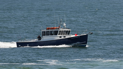 Montauk Cod Fishing Boat