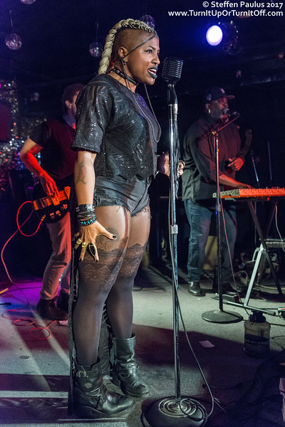 SATE @ Horseshoe Tavern, Toronto, ON, Canada, 28-January 2017