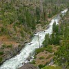 Falls Creek below cataract