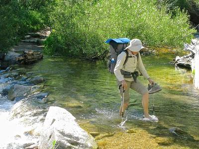 Creek crrossing