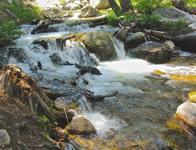 High water flow