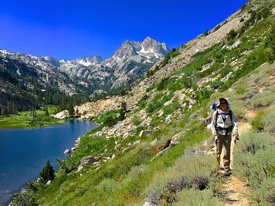 Barney Lake trail