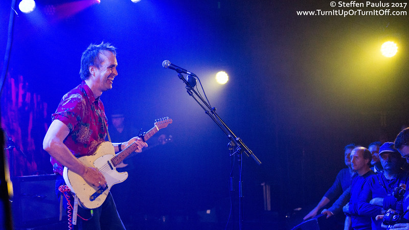 Chuck Prophet And The Mission Express @ AB, Brussels, Belgium, 30-October 2017