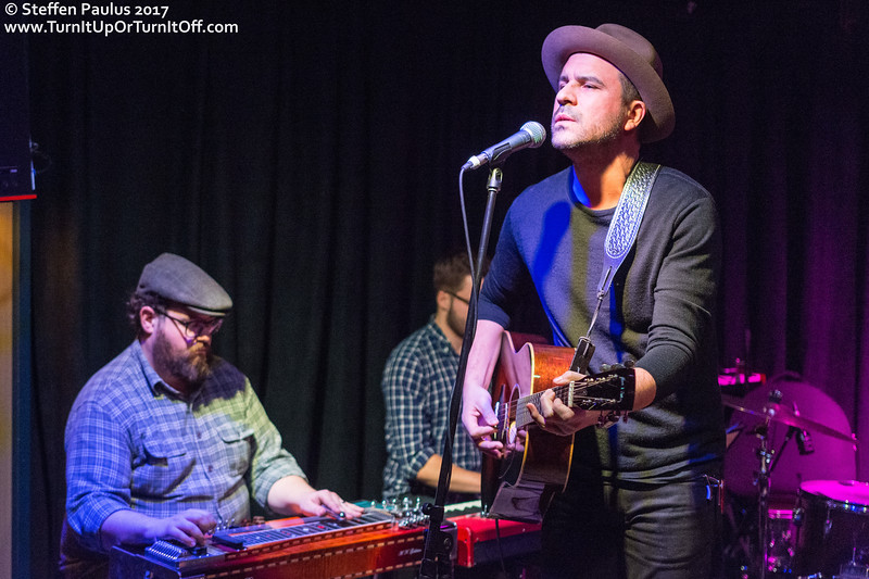 Deon Blyan & The Myth of Fingerprints Band @ Burdock Music Hall, Toronto, ON, 9-December 2017