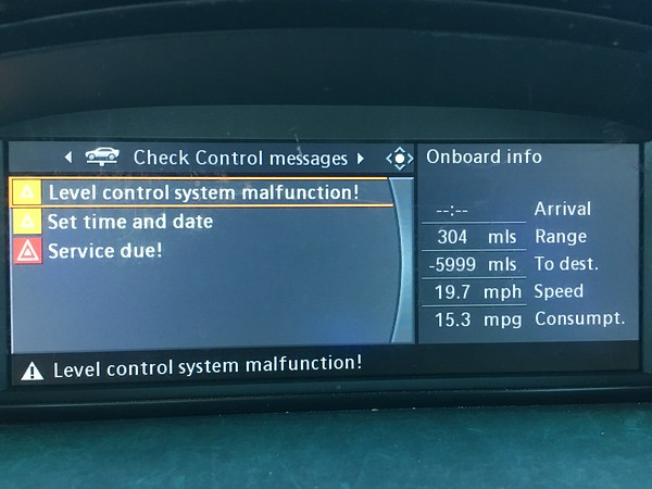 Deleted Air suspension  Now need coding to remove error