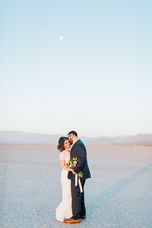 5 13 17 Leah & Mason Dry Lake Bed Sunrise Elopement-702