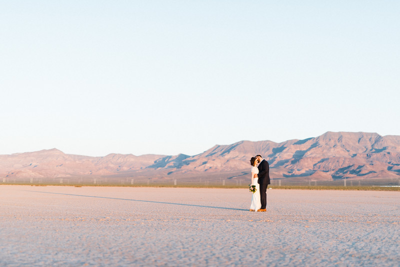 5 13 17 Leah & Mason Dry Lake Bed Sunrise Elopement-719