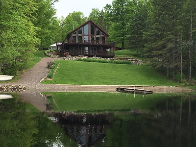 COULDN'T RESIST THIS PHOTO OF CABIN WHILE FISHING