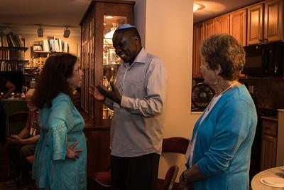 Chaya Weinstein - Aaron Kintu Moses in NYC