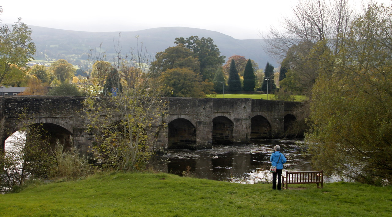 Bridge in Crickhowell
