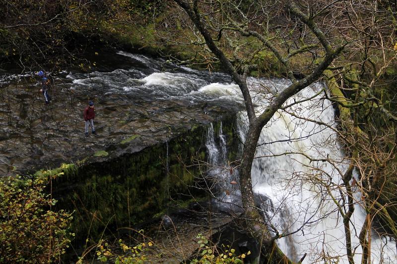 Clun-Gwyn Waterfall