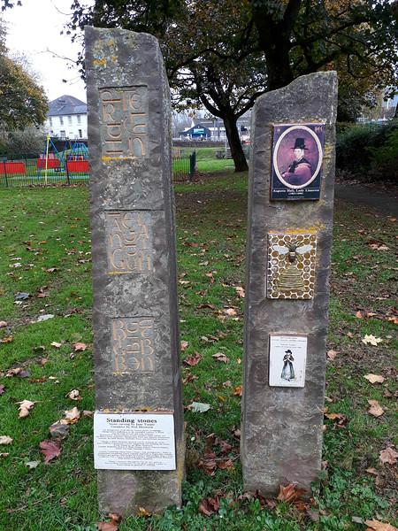 standing stones in Abergavenny