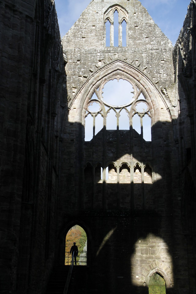 Tintern Abbey, built 1131 was the first Cistercian Abbey in Wales.