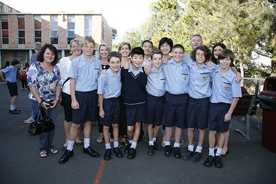 Class of 2017, First Day at School 2012