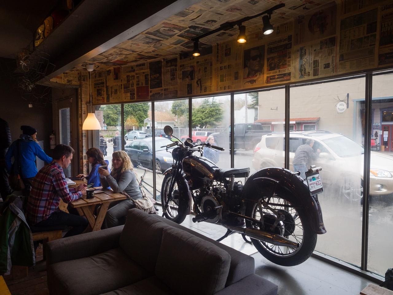 Motorcycle window