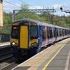 Thameslink Class 377 Electrostar no. 377518 at Elstree & Borehamwood on a Luton service.