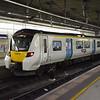 Thameslink Class 700 Desiro City no. 700018 at London St. Pancras on a Bedford service.