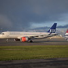 Scandinavian Airlines Airbus A320 LN-RGN at Copenhagen Airport.
