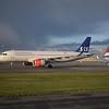 Scandinavian Airlines Airbus A320 LN-RGN at Copenhagen Airport.