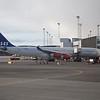 Scandinavian Airlines Airbus A340 OY-KBI at Copenhagen Airport.