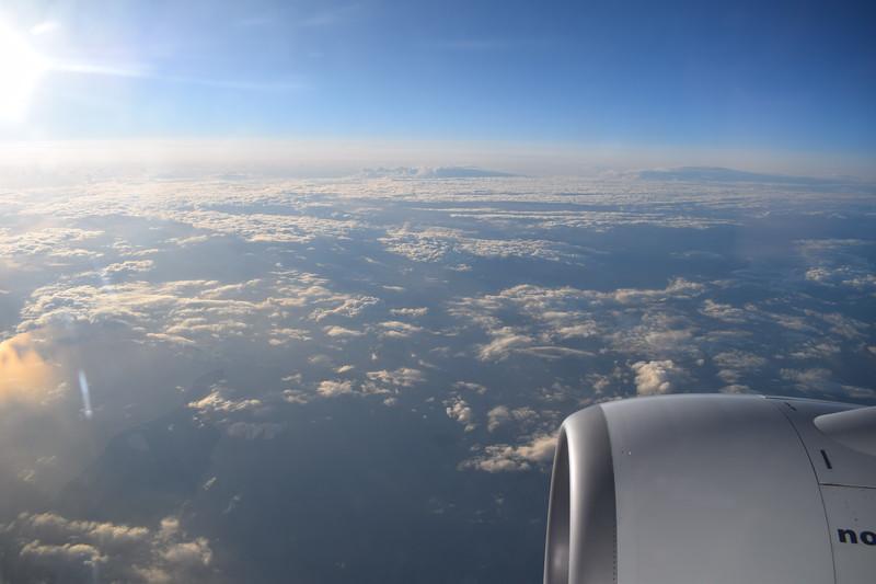 Flying on flight D82909 from Copenhagen to London Gatwick on Norwegian Air International Boeing 737-800 EI-FHP.