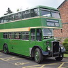 Preserved United Counties ECW bodied Bristol KS FRP692 838 at the Wellingborough running day.