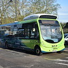 Arriva electric Wright Streetlite KP63TEV 5008 charging at Wolverton Agora on the 7.