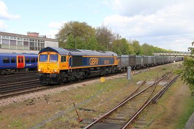 66767 Basingstoke 25/04/17 4Y19 Mountfield to Southampton Western Docks