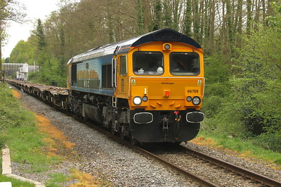 66709 Chandlers Ford 24/04/17 6M46 Marchwood to Bicester