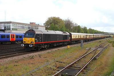 67006 Basingstoke 26/04/17 1V80 London Victoria to Bath Spa