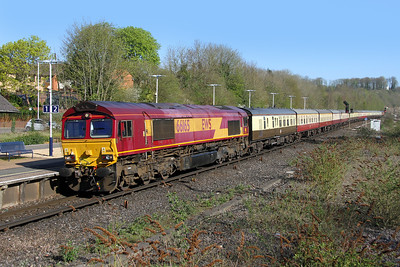 66165 Micheldever 08/04/17 1Z91 London Waterloo to Fawley