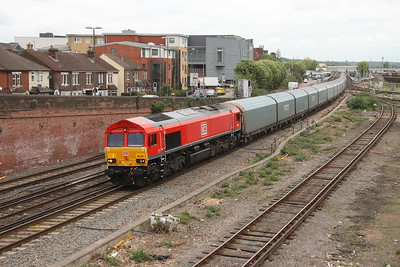 66041 Eastleigh 24/04/17 4O40 Morris Cowley to Southampton Eastern Docks