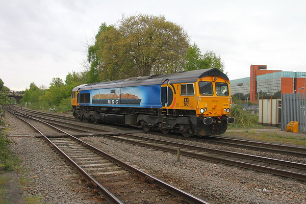 66709 Basingstoke 24/04/17 0O44 Bicester to Marchwood