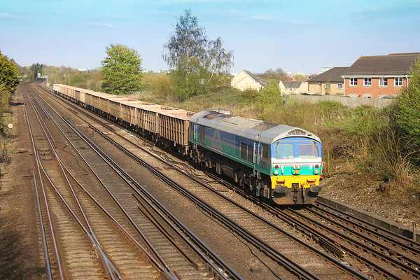 59005 Worting Junction 11/04/17 7V12 Woking to Merehead