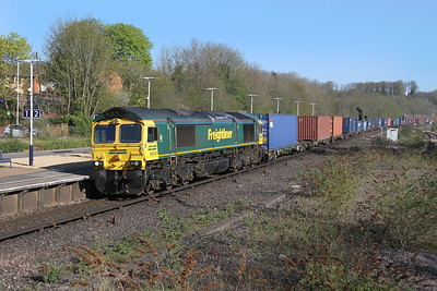 66590 Micheldever 08/04/17 4O18 Lawley Street to Southampton