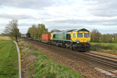66420 Weston 10/04/17 4O57 Wentloog to Southampton
