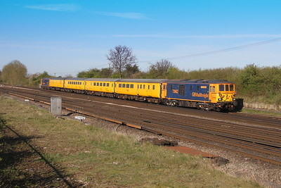 73962 Worting Junction 19/04/17 1Q65 Eastleigh to Woking with 73961 on the rear